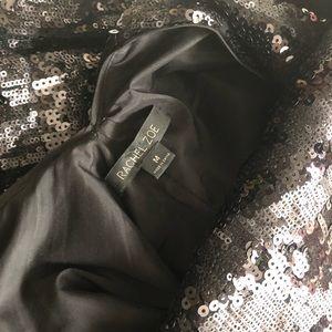 Rachel Zoe Dresses - NWOT Rachel Zoe Isabella Sequined Gown Black M